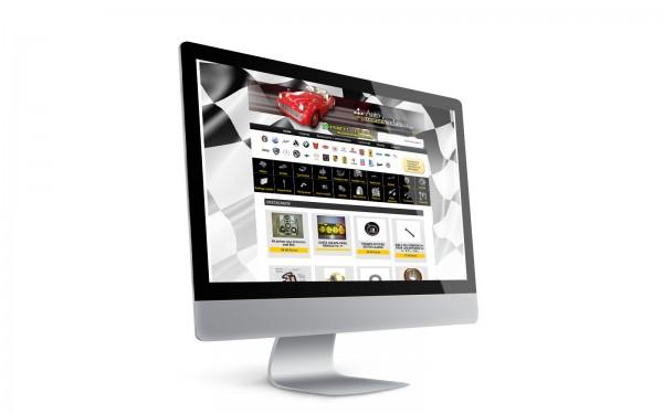 """Disseny de botiga on-line autorecambioclasico.com"""
