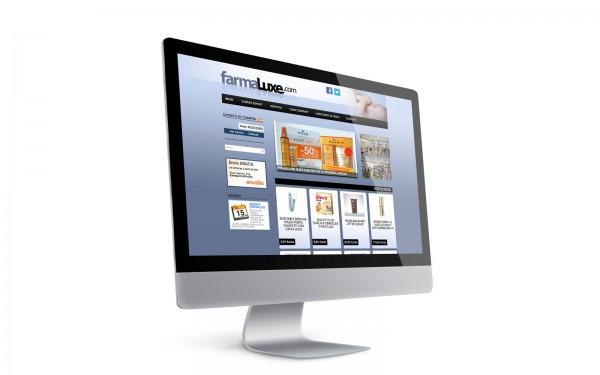 """""""Disseny de web botiga on-line de Farmaluxe"""""""