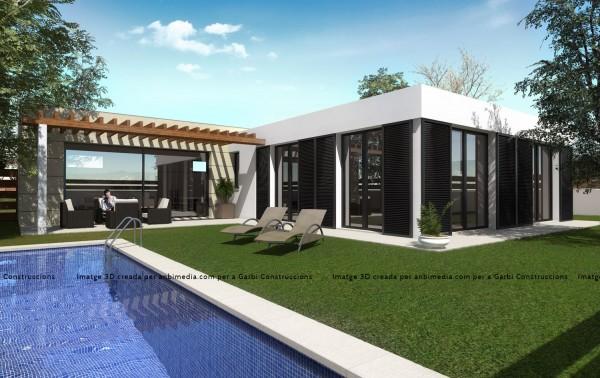 Imatge 3D creada per anbimedia.com per a Garbí Construccions