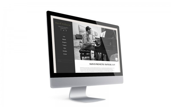 """David Poblete, multi-instumentista i educador de Jazz. Web i imatge d'anbimedia."""
